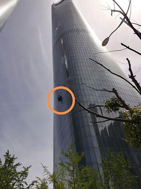 绿地中央广场 南昌高空作业